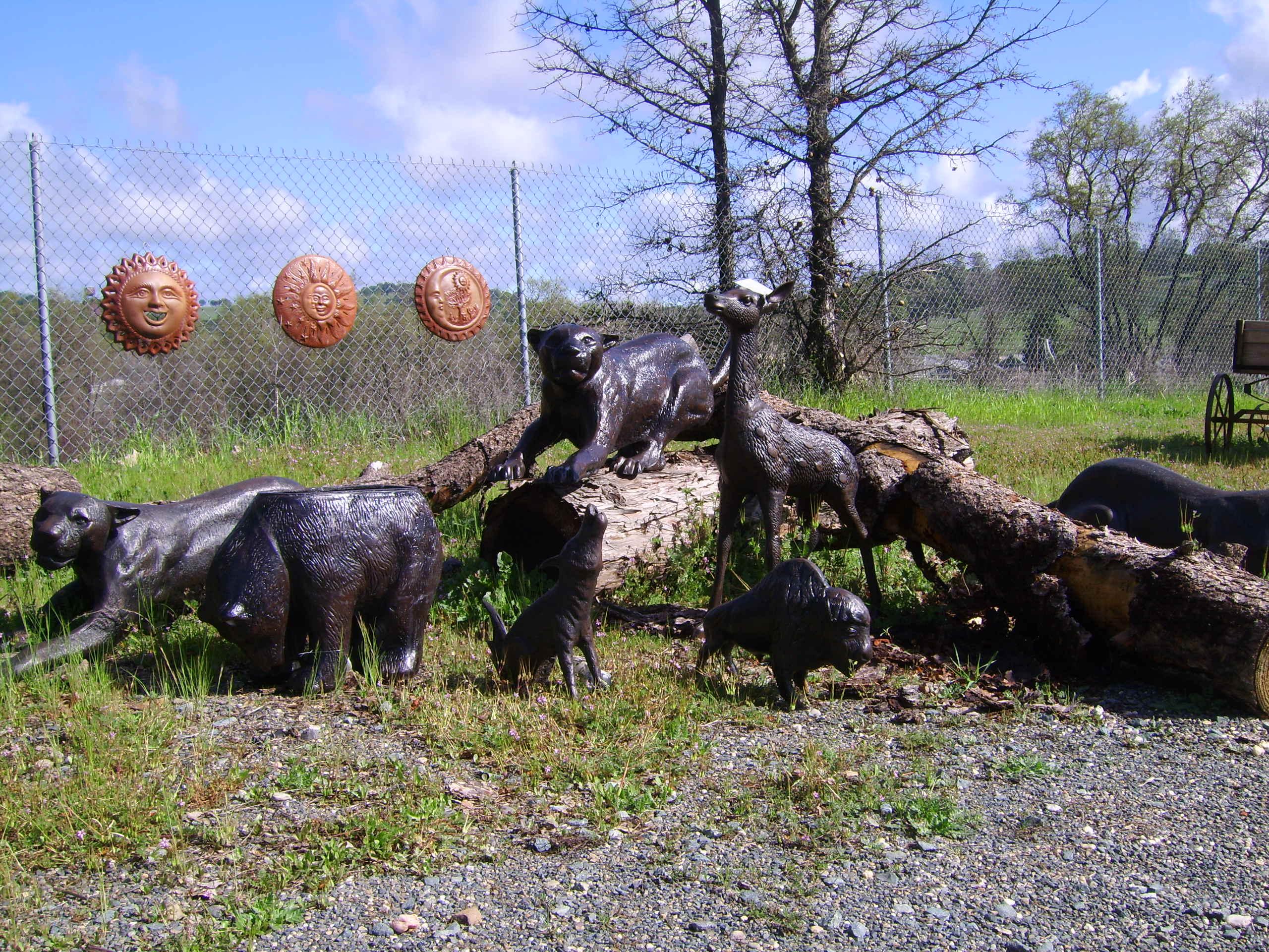 Wild Animal Statues